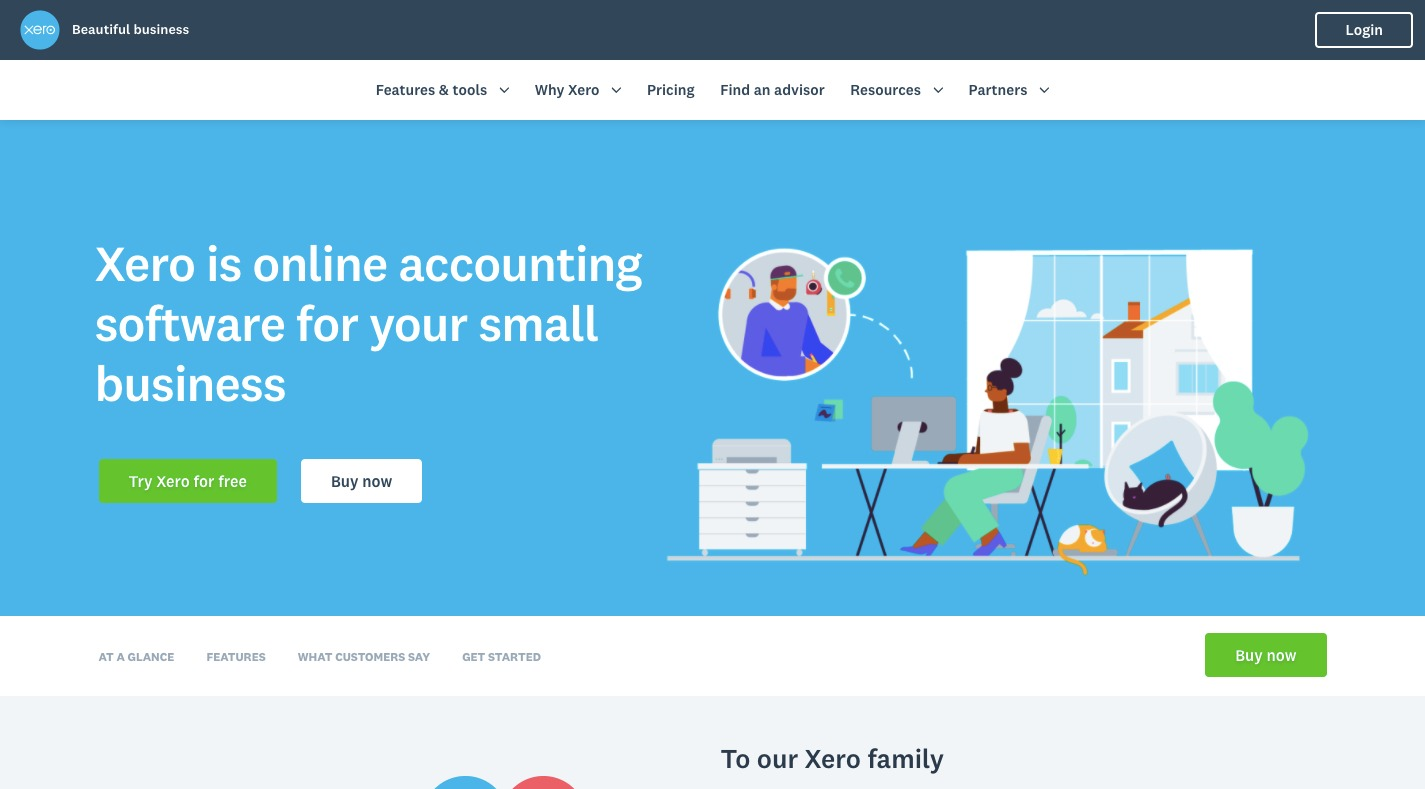 Business Automation Tools - Xero